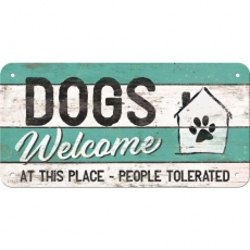 PfotenSchild - Dogs Welcome