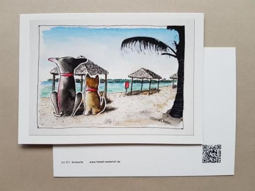 Karte Tom & Joe ... auf den Bahamas