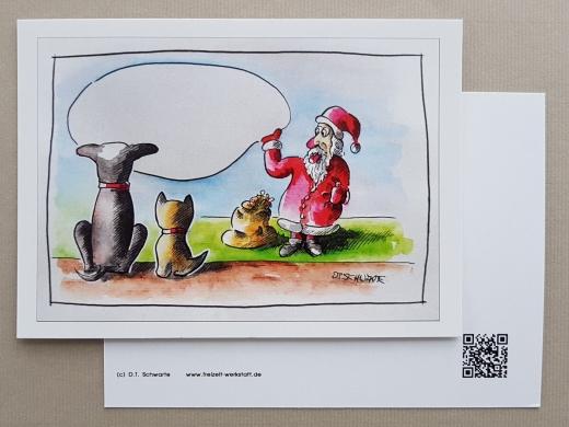 Karte Tom & Joe ... Weihnachtsgruß