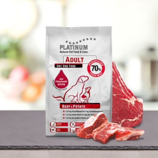 PLATINUM Adult Beef & Potato 1,5 kg