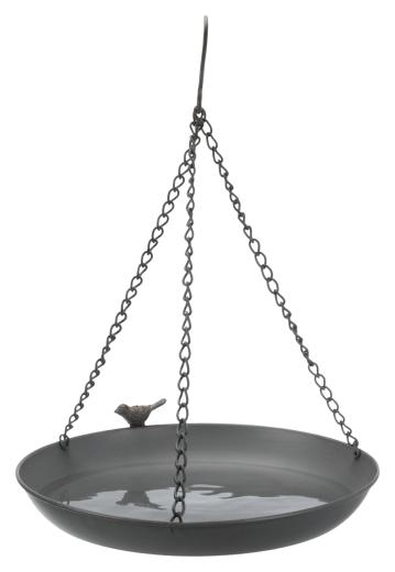 Vogeltränke hängend, Metall