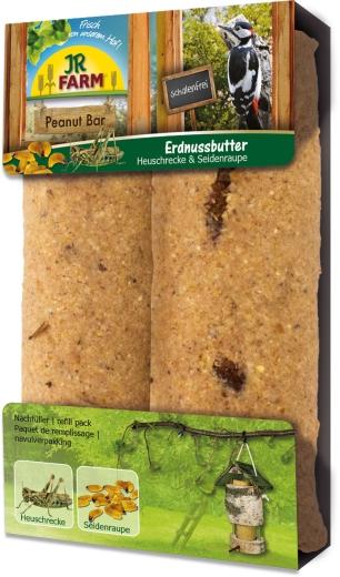 JR FARM Peanut Bar Heuschrecke & Seidenraupe 2er Pack