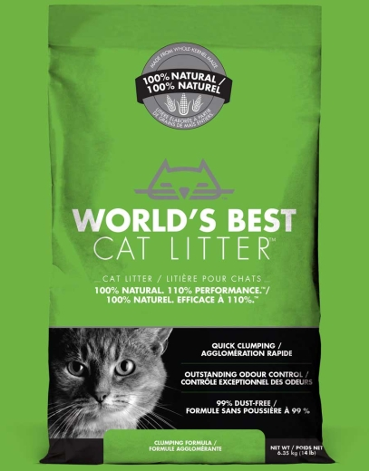 Worlds Best Cat Litter Lavendel Katzenstreu 12,7 kg