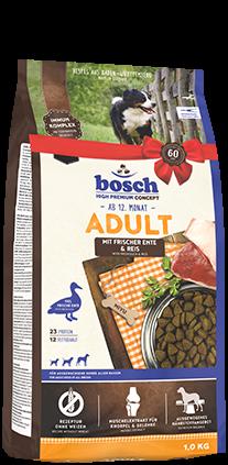 Bosch Adult mit frischer Ente & Reis 15 kg