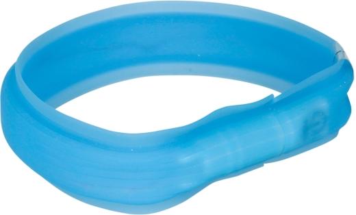 Flash Leuchtband USB M-L blau