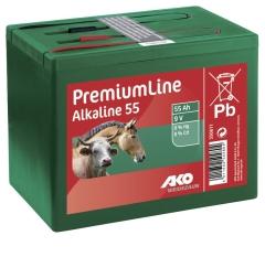 Alkaline 9 Volt Trockenbatterie 55 AH