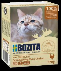 Bozita Cat Tetra Häppchen in Gelee mit viel Huhn 370 g