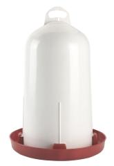 Doppelzylinder-Kunststofftränke 12 l