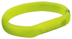 Flash Leuchtband USB L-XL grün