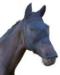 Fliegenmaske mit Ohren- und Nüsternschutz Pony