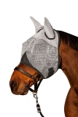 Fliegenmaske mit Ohrenschutz Pony