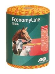 Economy Line Weidezaunlitze 250 m gelb-orange