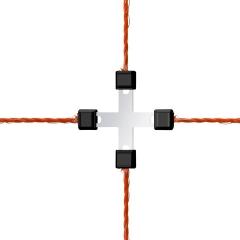 Litzen-Kreuzverbinder Litzclip