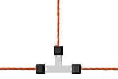 Litzen-T-Verbinder Litzclip