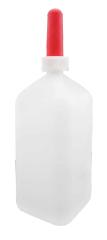 GEWA Milchflasche 2 l mit Kälbersauger