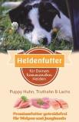 Heldenfutter Welpen Huhn,Truthahn & Lachs 6 kg