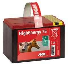 High Energy Saline 9 V Trockenbatterie 75 Ah