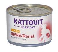 Kattovit Niere/Renal Huhn 185 g