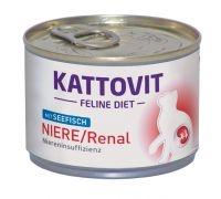 Kattovit Niere/Renal Seefisch 175 g