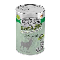 Landfleisch Wolf Sensibel Wild 400 g