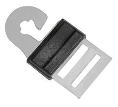 Litzclip® Torgriffverbinder für Band für 10 / 20 mm Bänder