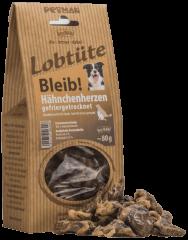 Lobtüte BLEIB! Hähnchenherzen 80 g