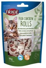 PREMIO Fish Chicken Rolls 50 g