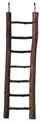 Naturholzleiter 7 Sprossen/30 cm