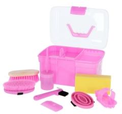 Putzbox befüllt, für Kinder 8teilig