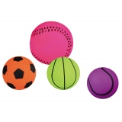Spielball, Moosgummi