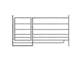 Steckhorde mit Tor, 1,83 m