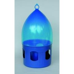 Taubentränke weiß-blau mit Tragegriff 3,5 l