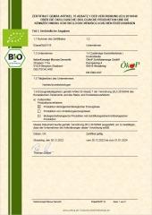 Bio-Zertifikat futterkonzept DE-ÖKO-037