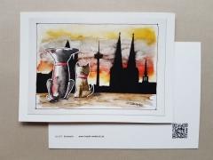 Karte Tom & Joe ... Skyline Köln