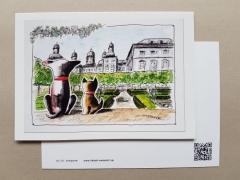 Karte Tom & Joe ... Schloss Bensberg