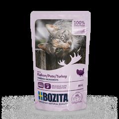 Bozita PB Feline Häppchen in Soße mit Pute 85 g