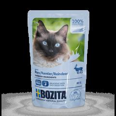 Bozita PB Feline Häppchen in Soße mit Rentier 85 g