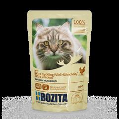 Bozita PB Feline Häppchen in Soße mit viel Hühnchen 85 g