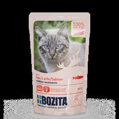 Bozita PB Feline Häppchen in Soße mit Lachs 85 g