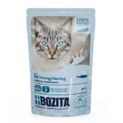 Bozita PB Feline Häppchen in Soße mit Hering 85 g
