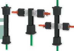 Litzclip® Reparaturset für Vertikalstreben in Weidenetzen