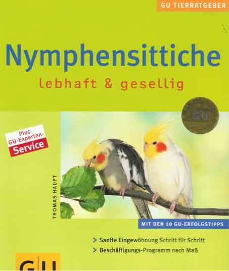Nymphensittiche lebhaft & gesellig