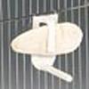 Sepiahalter mit Aufhängebügel und Stange